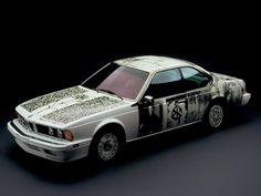 BMW Art Cars Project Count The car on this list is the BMW 635 The artist is Robert Rauschenberg born October Port Arthur, Texas. Robert Rauschenberg, Bmw 635csi, Bmw E24, Suv Bmw, Bmw Cars, Jeff Koons, Diesel, Bmw Design, Automobile