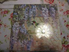 Hummingbird counted cross-stitch