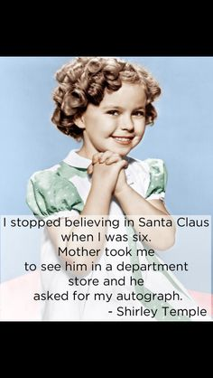 The amazing Shirley Temple
