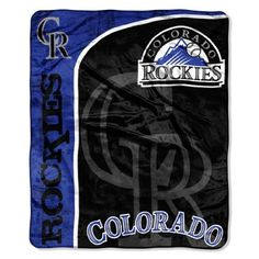 MLB Colorado Rockies Micro Plush Raschel Throw Blanket, Jersey Design by Northwest. $15.17. Rather you are at the game, on the couch, or on a picnic, this Micro Raschel Throw is both comfortable and convenient. These remarkably soft throws feature bold vibrant team colors with team logo. They are made from a super plush 100% polyester micro raschel fabric. This throw measures 50-inches-by-60-inches and is detailed with a decorative binding around the edges. This durable, ta...