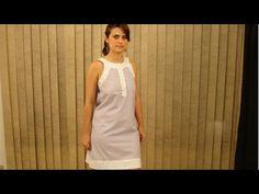 Confecção de Vestidos - Vestido Clássico - Cursos CPT - YouTube