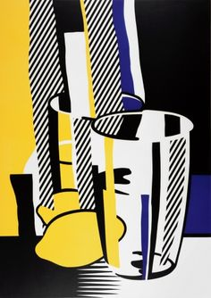 Before the Mirror, by Roy Lichtenstein. Though he is now a seminal figure of Pop art, Roy Lichtenstein was a relatively unknown artist until his. Lichtenstein Pop Art, Jasper Johns, Andy Warhol, Marc Chagall, Richard Hamilton, Modern Art, Contemporary Art, Industrial Paintings, Pompidou Paris