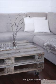 DIY coffee table | Pallet board love
