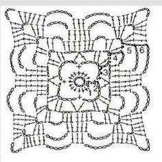 Grafico unit crochet pattern