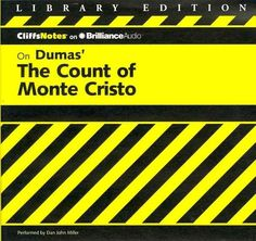 CliffsNotes on Dumas' The Count of Monte Cristo: Library Edition