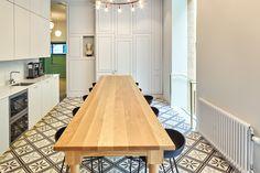 SLS - Ritarikatu — I Kitchen, Interior Design, Office Design Office Environment, Workplace Design, News Space, Kitchen Interior, Contemporary, Modern, Finland, Furniture Design, Traditional