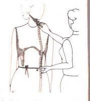 Medidas para trazar la blusa - El costurero de Stella
