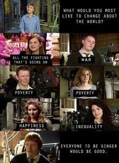 Ron weasley everyone.....