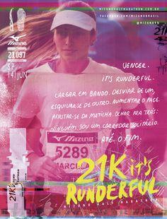 Half Marathon 21K   Mizuno   Print   F/Nazca Saatchi & Saatchi