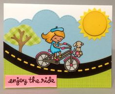 Lawn Fawn Bicycle Built For You Crafting in Waikiki  cygenovia.wordpress.com Bike Wedding, Bicycle Cards, Lawn Fawn Stamps, Simon Says Stamp, Cool Cards, Bicycles, Wedding Cards, Stamping, Layouts