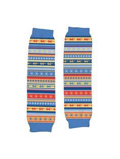 Organic Blue Stripe Legwarmers by iPlay at Gilt