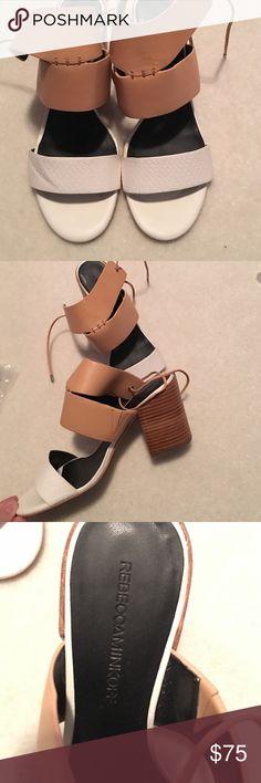 Rebecca Minkoff shoes Rebecca Minkoff shoes. Height heel is 3 1/2 inches! Rebecca Minkoff Shoes Heels