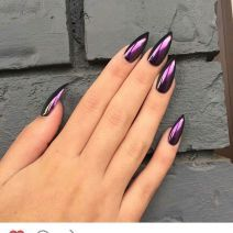 Glamour Chrome Nails Trends 2017 13