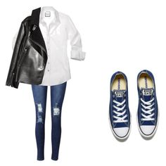 """Untitled #23"" by karma-yoseob on Polyvore featuring Converse"