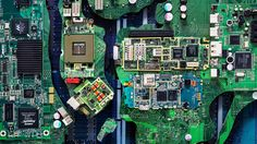 By 2017, people around the world will be discarding 92 billion pounds of e-waste per year, equivalent to the weight of 126 empire state buildings.