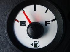 15 Genius Road Trip Hacks Seen on Pinterest | In a rental car, look at the fuel gauge to determine which side of the car the gas tank is on.
