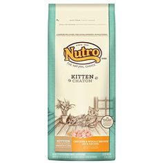 NUTRO NATURAL CHOICE Wholesome Essentials Kitten Chicken and Whole Brown Rice Formula 65 lbs -- Read more reviews of the product by visiting the link on the image.