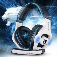 Wired Headphone with Mic Volume Control Noise Cancelling for PC Gamer