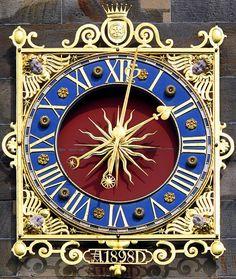 Unique Clocks, Cool Clocks, Tick Tock Clock, Father Time, Time Clock, Clock Decor, Grandfather Clock, Sundial, Decorative Objects