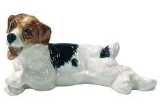 Royal Doulton Playful Dog Figurine on OneKingsLane.com Mans Best Friend, Best Friends, Royal Doulton, One Kings Lane, Vintage Ceramic, Porcelain, Clay, Ceramics, Dogs