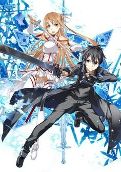 Sword art online-the perfect blend of romance and action scores this anime a spot in my top 5