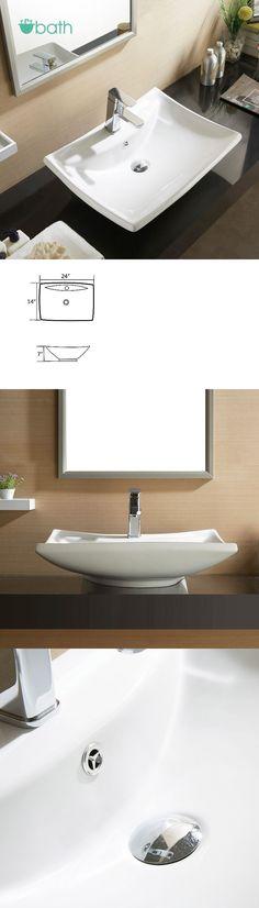 Sinks 71283 Oval Bathroom Basin Ceramic Vessel Sink Bowl Vanity Mesmerizing Sink Bowl Bathroom Review