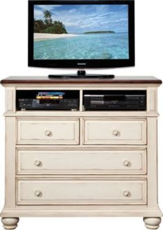 shop for a berkshire lake white media chest at rooms to go find chests that