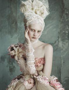 Cool Chic Style Fashion: Editorial Fashion | Opulenz À La Marie Antoinette: Dolce & Gabbana Alta Moda by Luigi + Iango for Vogue Germany April 2014