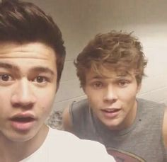 """#Imagine you walking out in your prom dress. """"Wow,"""" Ashton and Calum both whisper at the same time"""