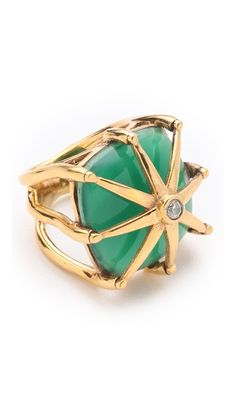 This cocktail ring is so art deco - push BY PUSHMATAaHA The Spider Ring