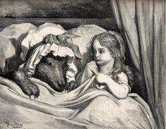 Le petit chaperon rouge & le loup - Chapeuzinho vermelho e o lobo