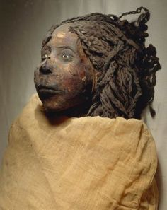 Giclee Print: Mummy of Queen Nedjemet, Wife of Herihor, Face Detail : Ancient Egyptian Art, Ancient History, Egyptian Things, Egyptian Artwork, Art Afro, Egypt Mummy, Kemet Egypt, Egyptian Mummies, Black History Facts