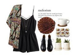 """Meliorism"" by morafersure ❤ liked on Polyvore featuring H&M, Innocence, Dorothy Perkins, Höganäs Ceramic, Jenny Bird, women's clothing, women's fashion, women, female and woman"