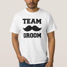 Team Groom Mustache Funny Groomsmen