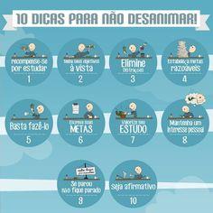 10 Dicas para Não Desanimar...: