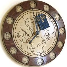 gallifreyan clock - Google Search