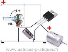 speed controller for DC motor 0 - News Technology Electronic Circuit Projects, Electrical Projects, Electronic Engineering, Arduino Projects, Electronic Gifts, Diy Projects, Electronics Components, Electronics Gadgets, Resistance Electronique