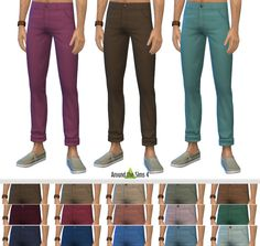 Around the Sims, Around the Sims 4 | H&M Shirts & Chinos I have...