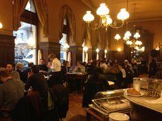 Afternoon tea at elegant Café Sperl in Vienna #Coffeehouse #Instiution