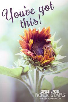 Don't let setbacks, low energy or frustration get you down...you've GOT THIS!!! #motivation #youcandothis #changerockstars