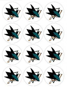 Single Source Party Supplies  25 San Jose Sharks Cupcake Edible Icing Image Toppers 1  Qty 12 >>> You can get more details by clicking on the image.