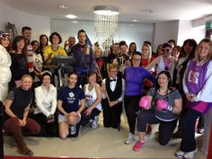 Hemsley Fraser employees looking sporty for #sportrelief on Friday!