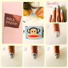 Are you ready to Paul Frank-ifiy your nails!? Check out this nail art tutorial to perfect your look!