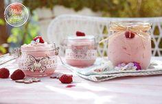 Pudding, Panna Cotta, Html, Ethnic Recipes, Desserts, Vintage, Food, Mascarpone, Raspberries