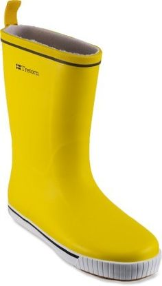 Cozy Cute Rainboots! Only $60 on REI! I've been loving them on rainy days..and they're yellow!