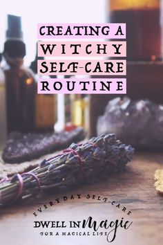 How to create a witchy self-care routine - A witchy self-care routine is a routine that includes elements of magick: divination, energy work, moon watching, spiritual connection and healing. Baby Witch, In Natura, Spiritual Connection, Modern Witch, Witch Aesthetic, Practical Magic, Self Care Routine, Book Of Shadows, Magick