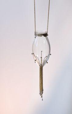marta torrent/santa rita: blown glass jewelry