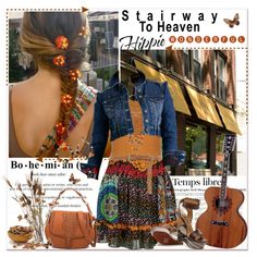 Stairway to heaven: hippie wonderful, created by annabu on Polyvore