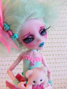 Reserved for Caden second PaymentMelody Mint by JBWickedPaperDolls