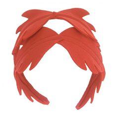felted leaves headband